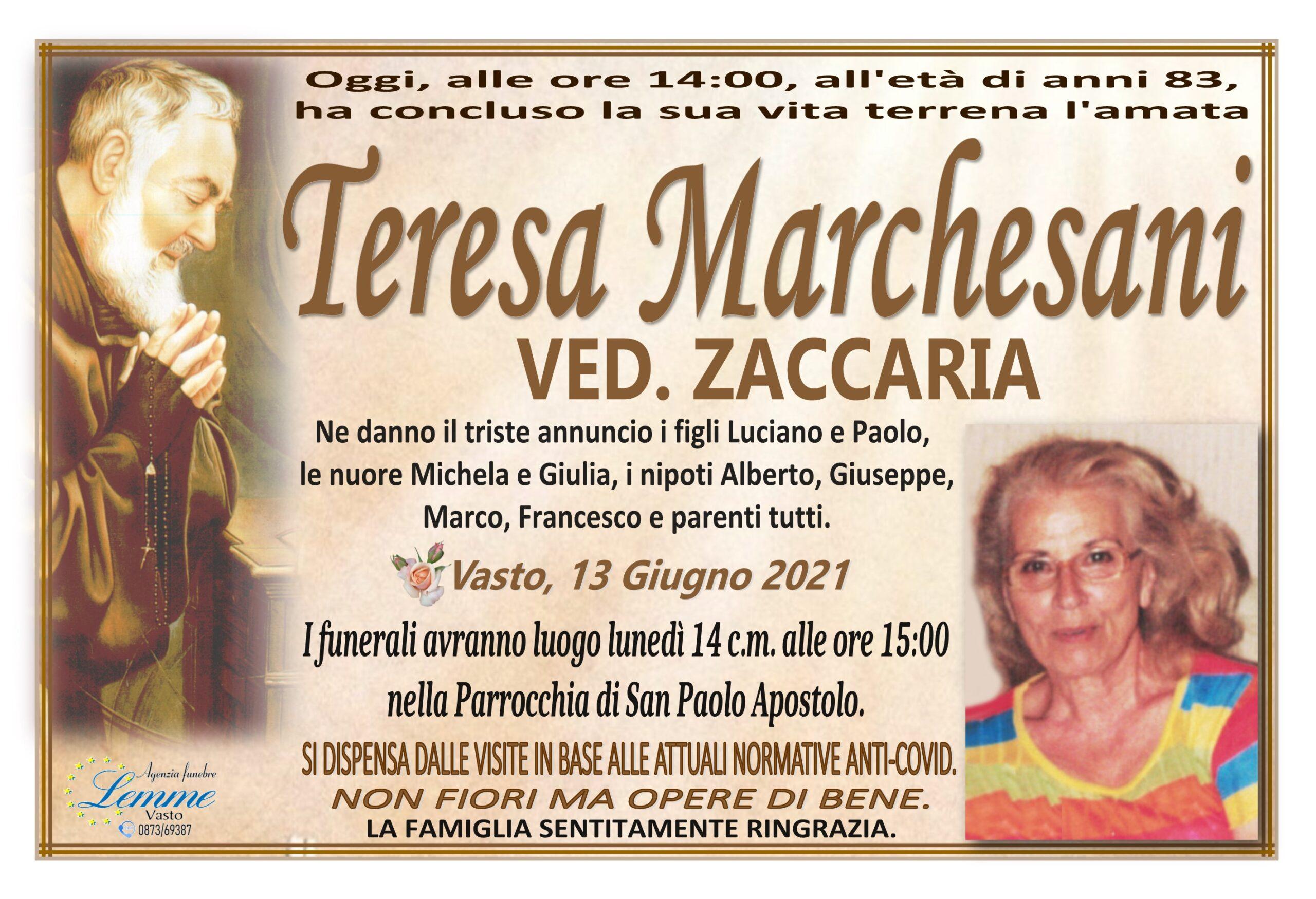 TERESA MARCHESANI