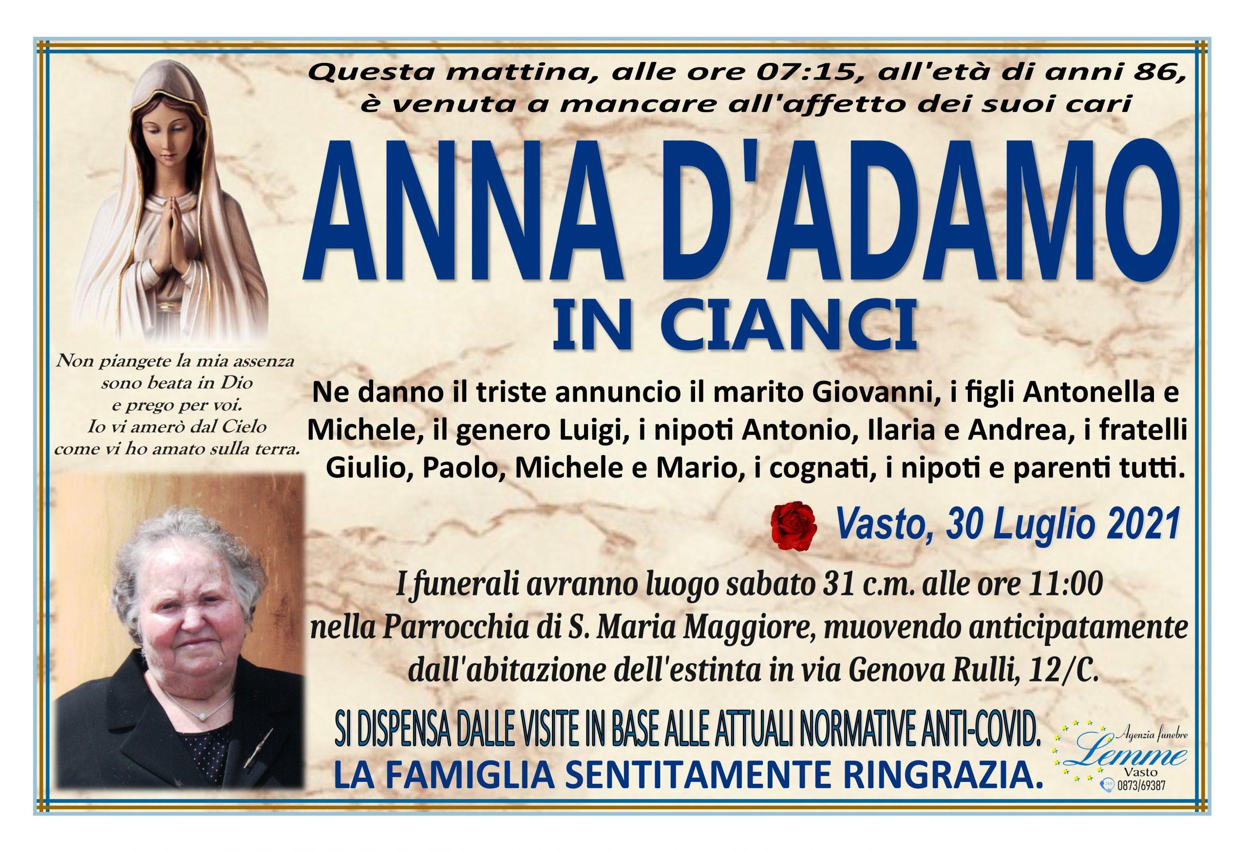 ANNA D'ADAMO