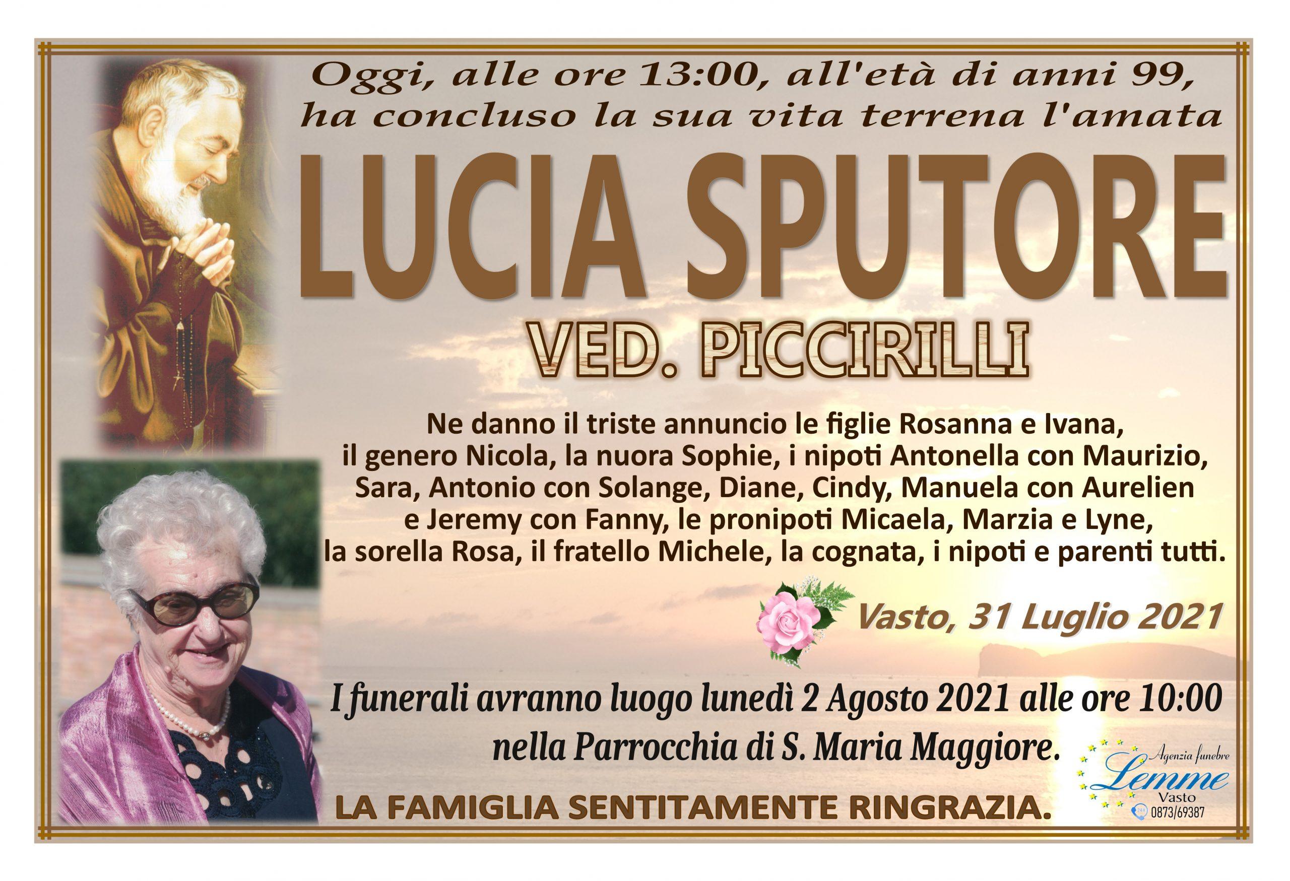 LUCIA SPUTORE