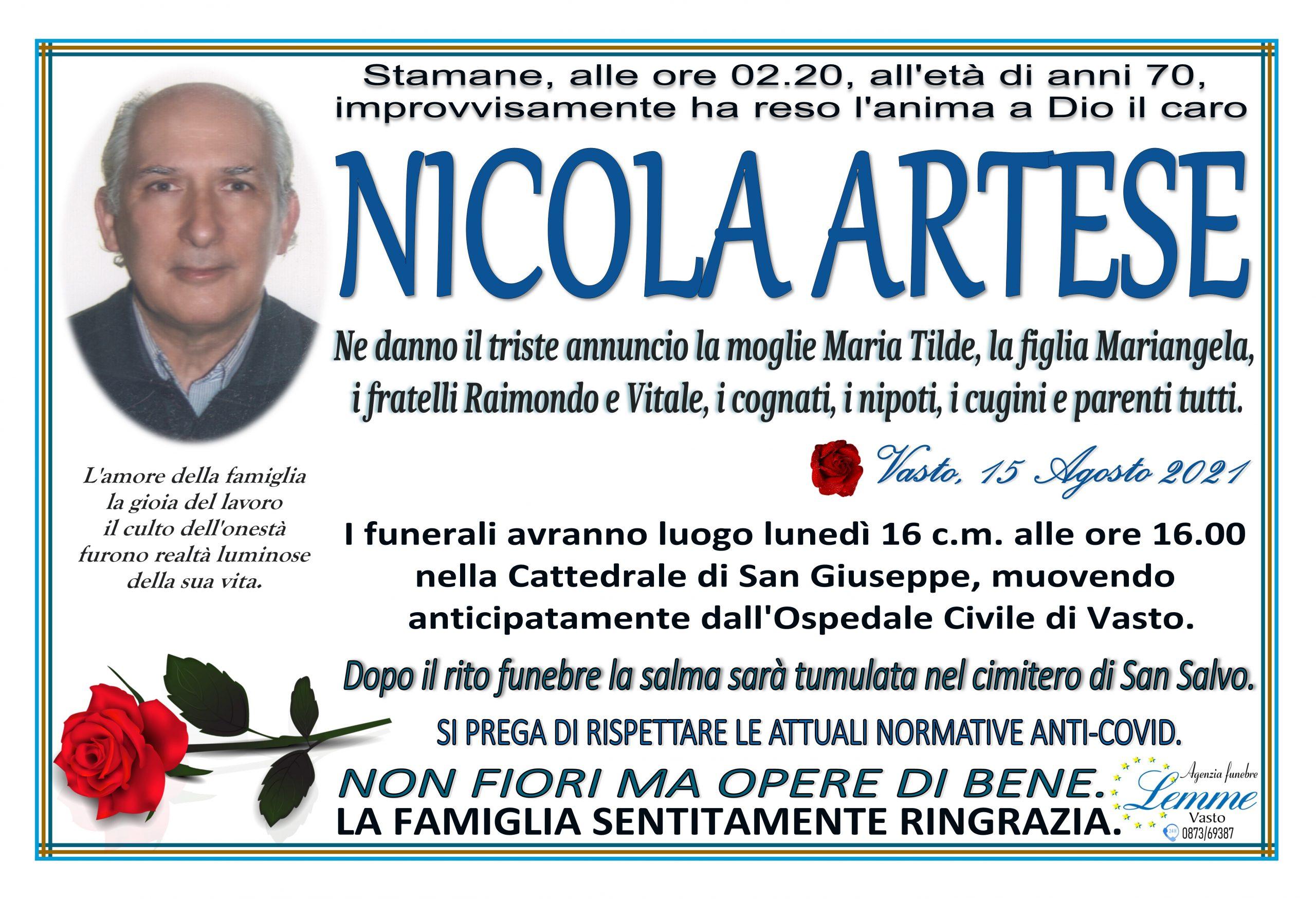NICOLA ARTESE