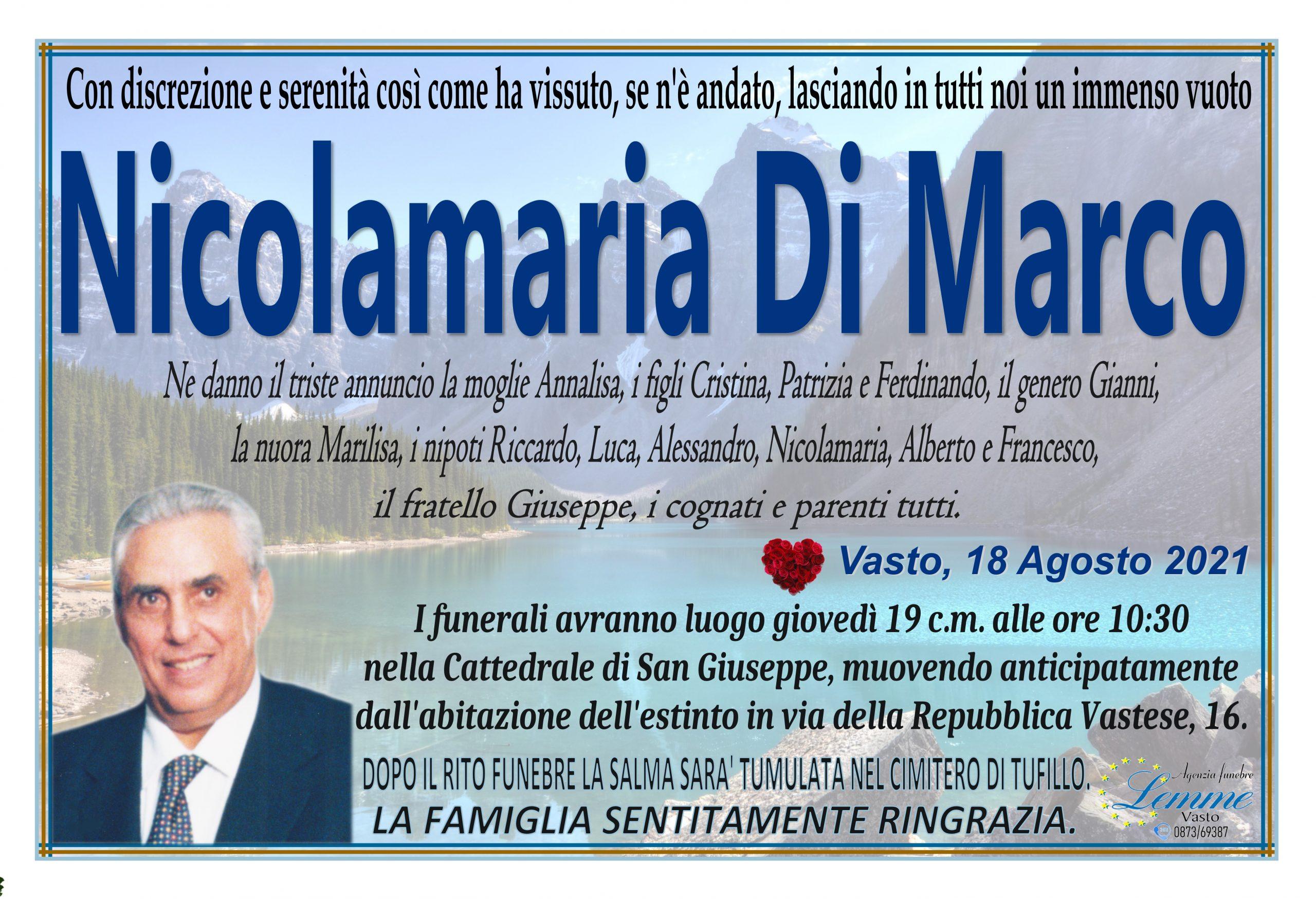 NICOLAMARIA DI MARCO