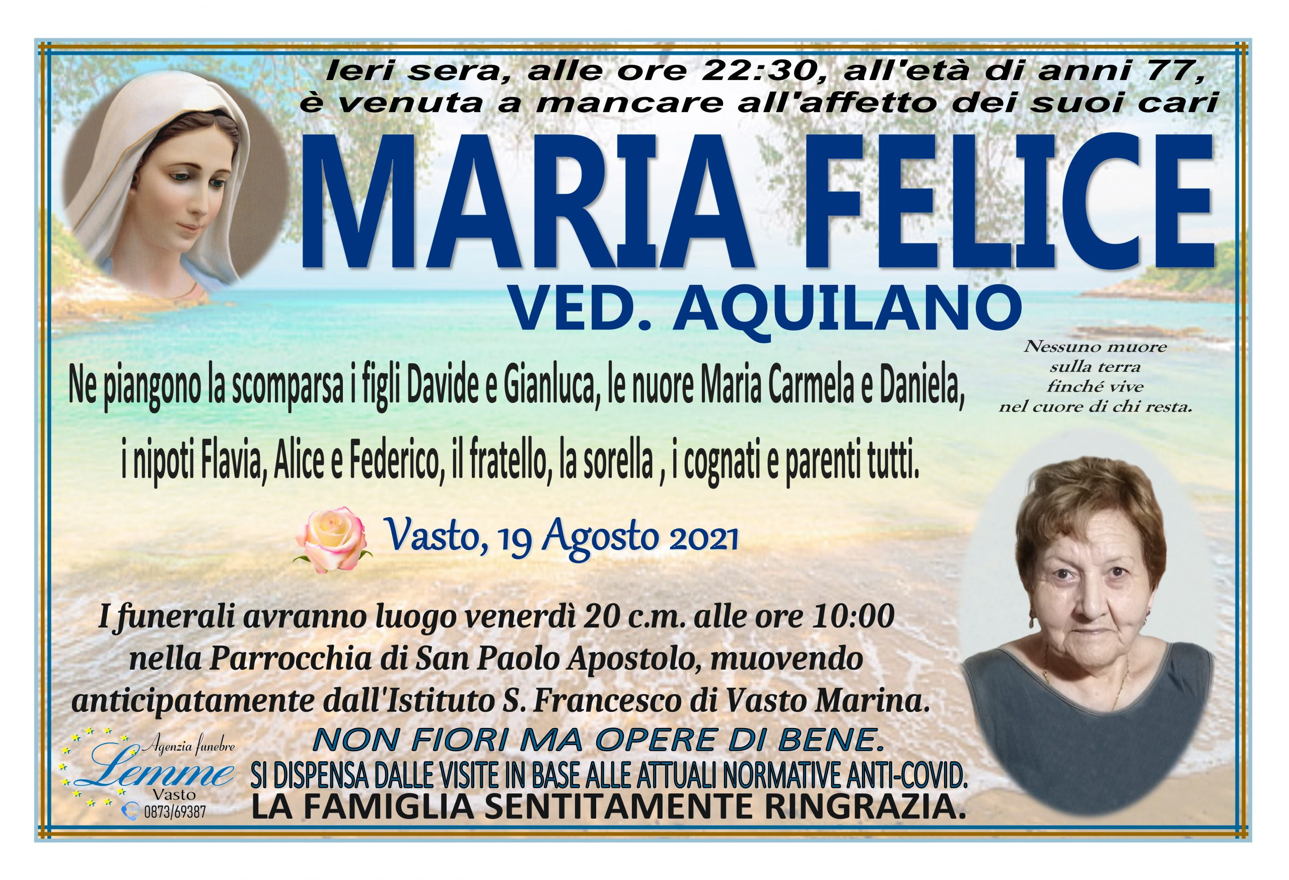 MARIA FELICE