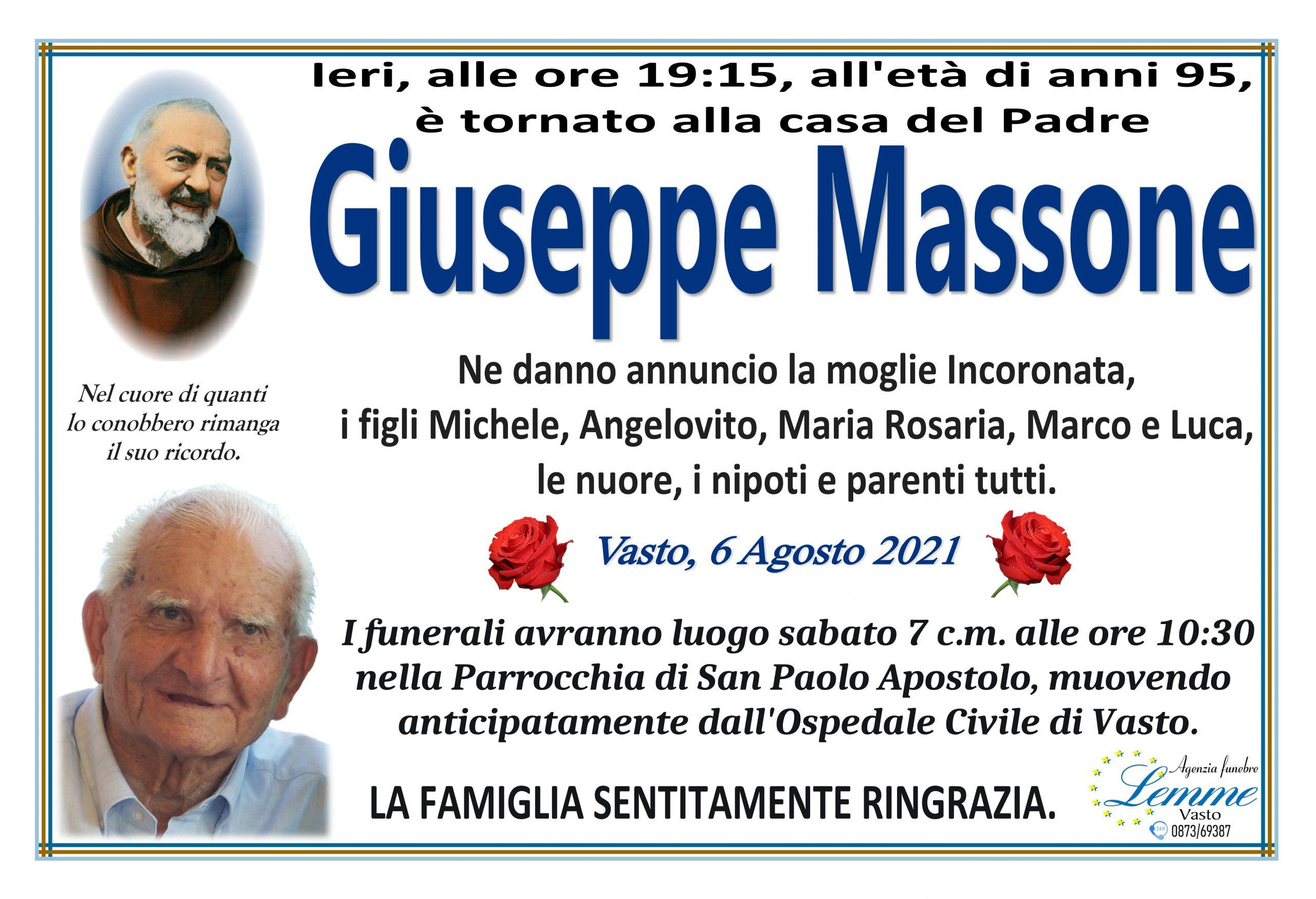 GIUSEPPE MASSONE