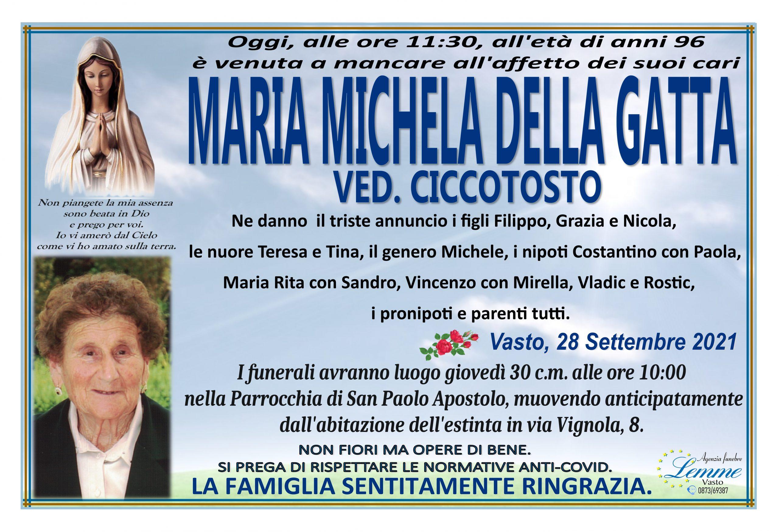 MARIA MICHELA DELLA GATTA