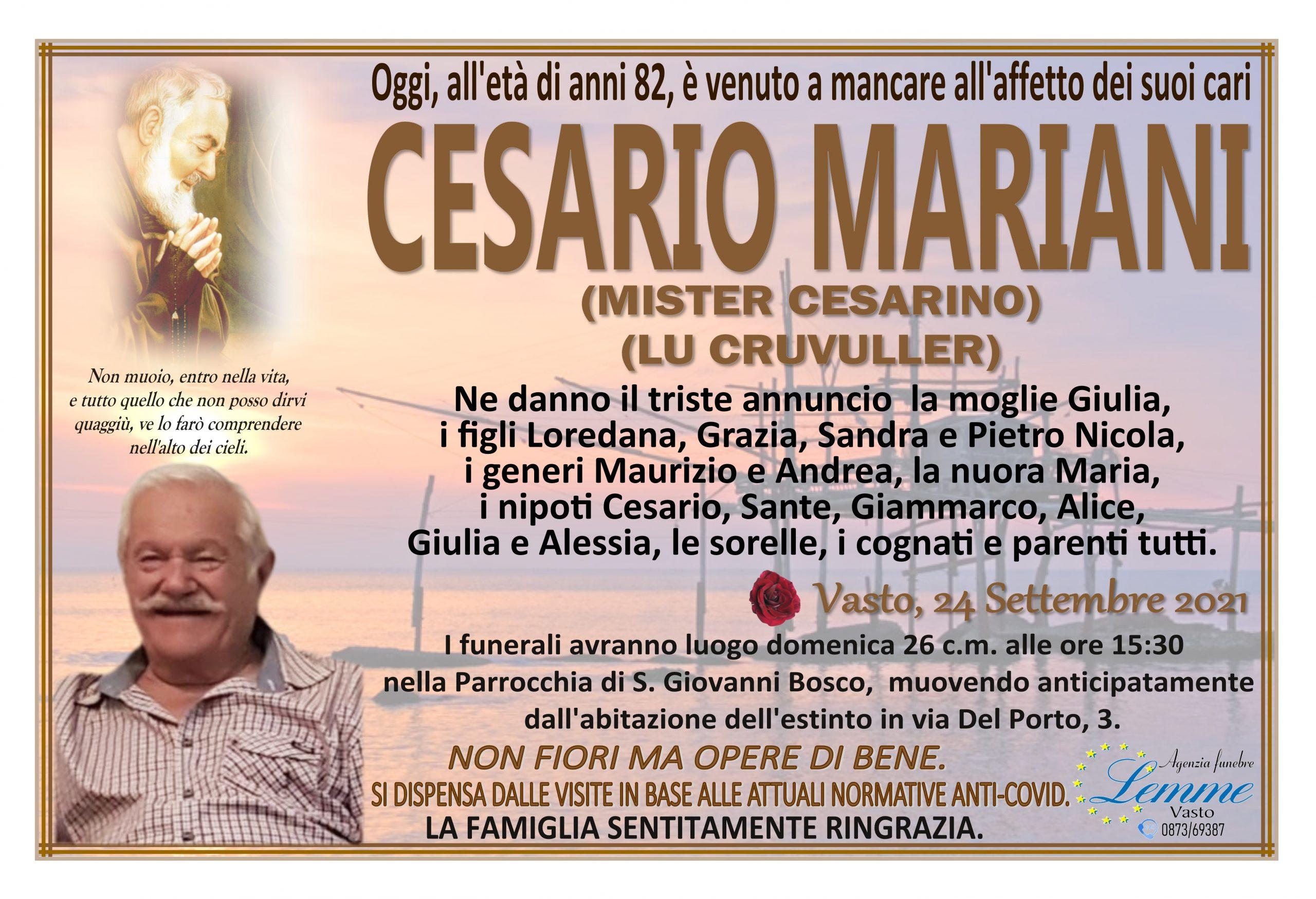 CESARIO MARIANI