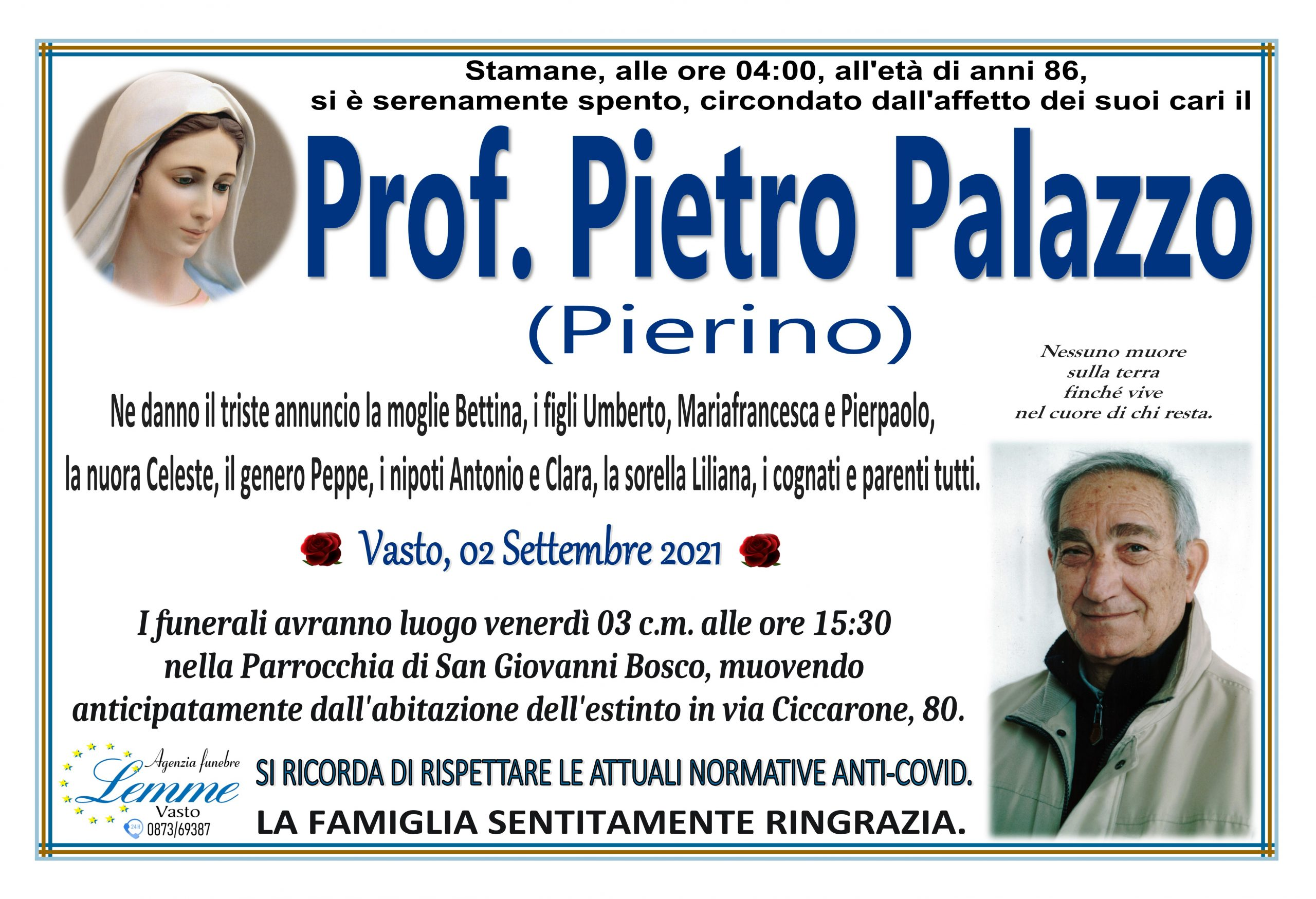 PIETRO PALAZZO