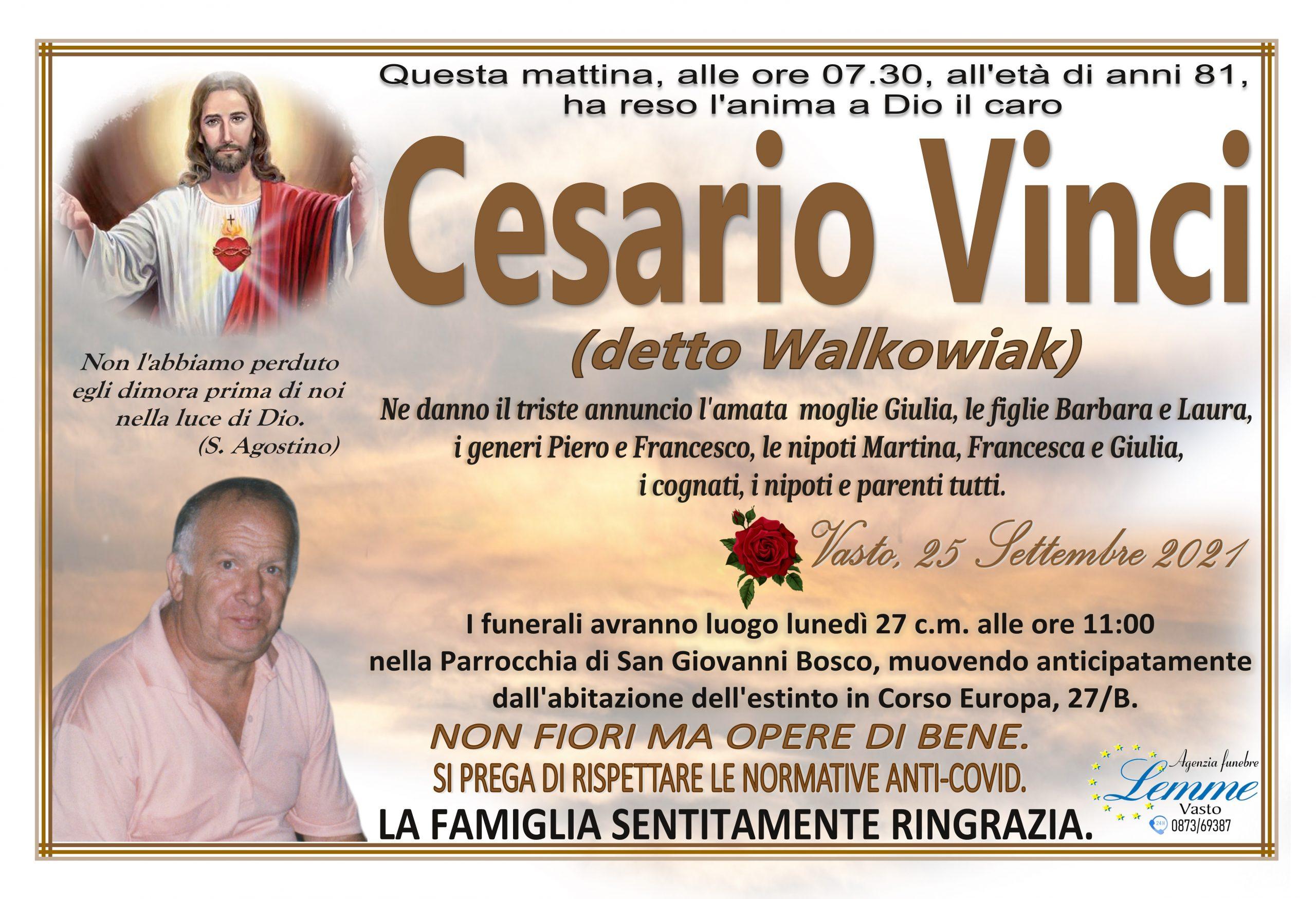 CESARIO VINCI