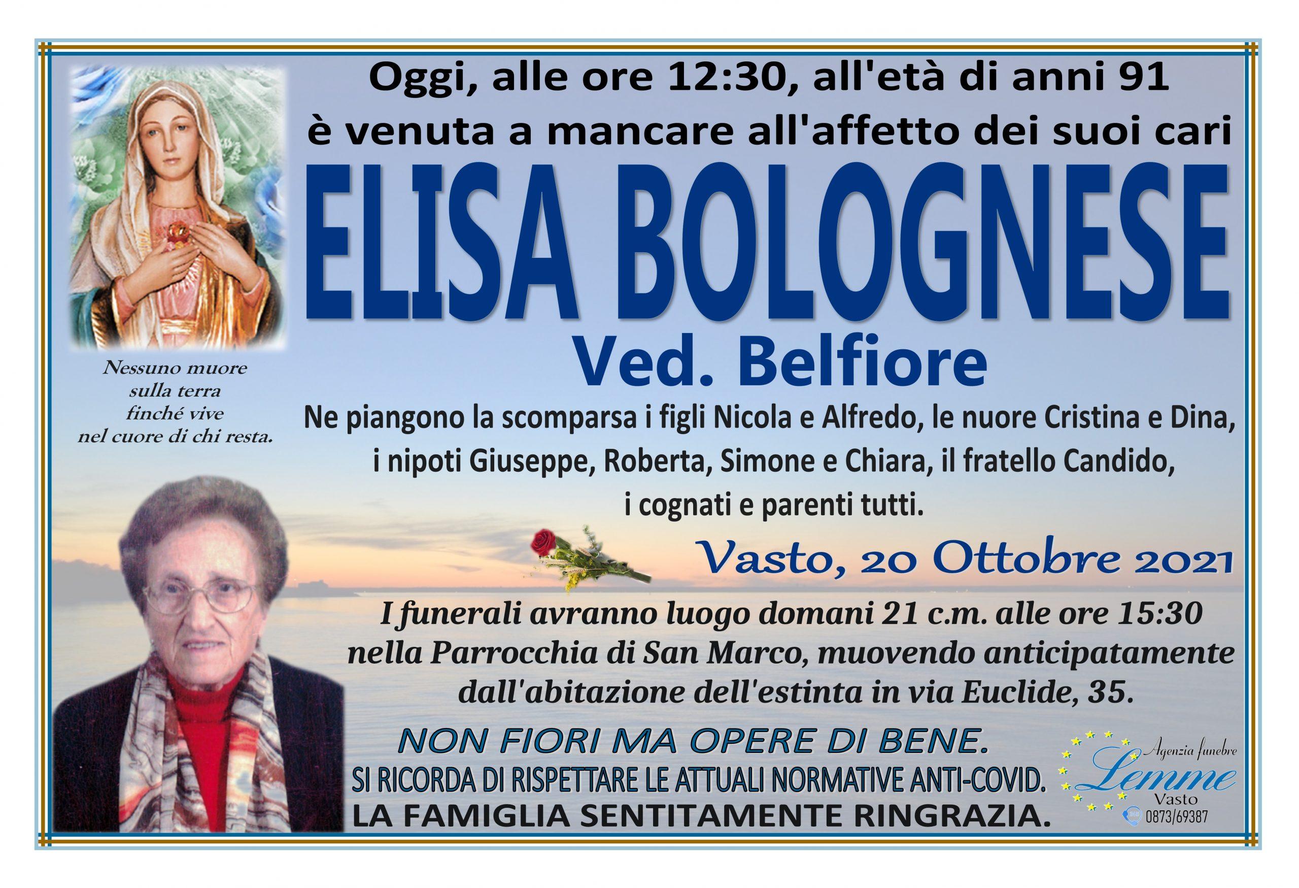 ELISA BOLOGNESE