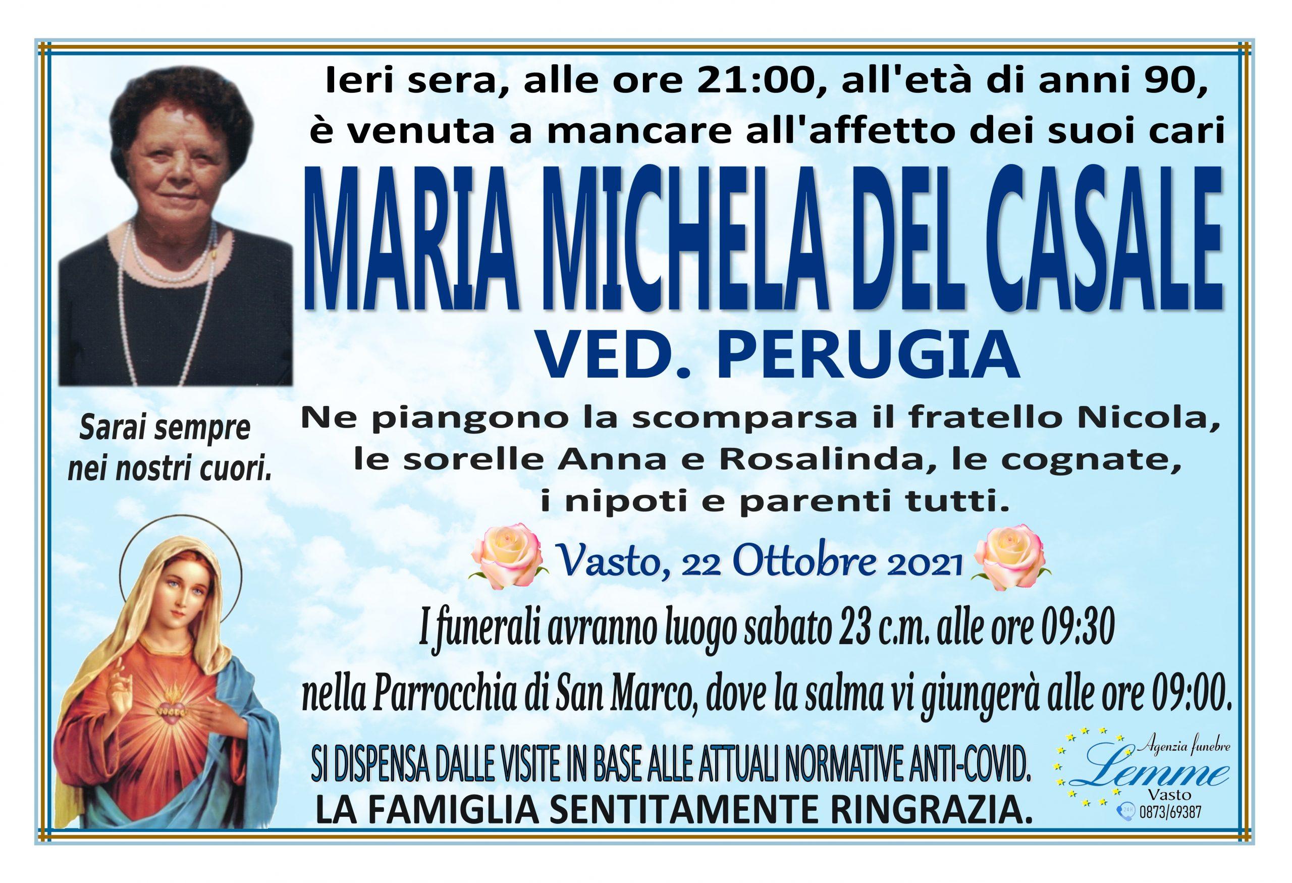 MARIA MICHELA DEL CASALE