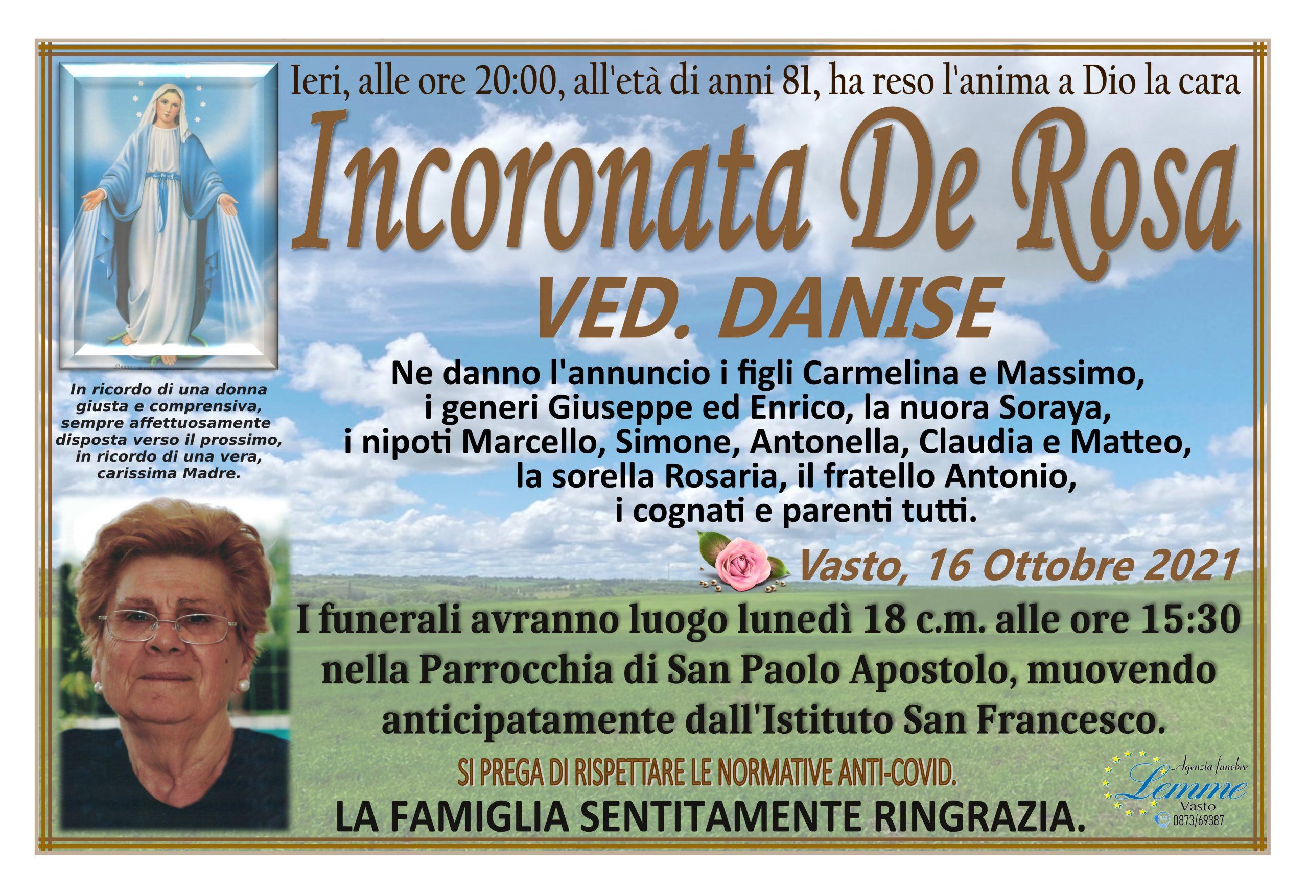 INCORONATA DE ROSA