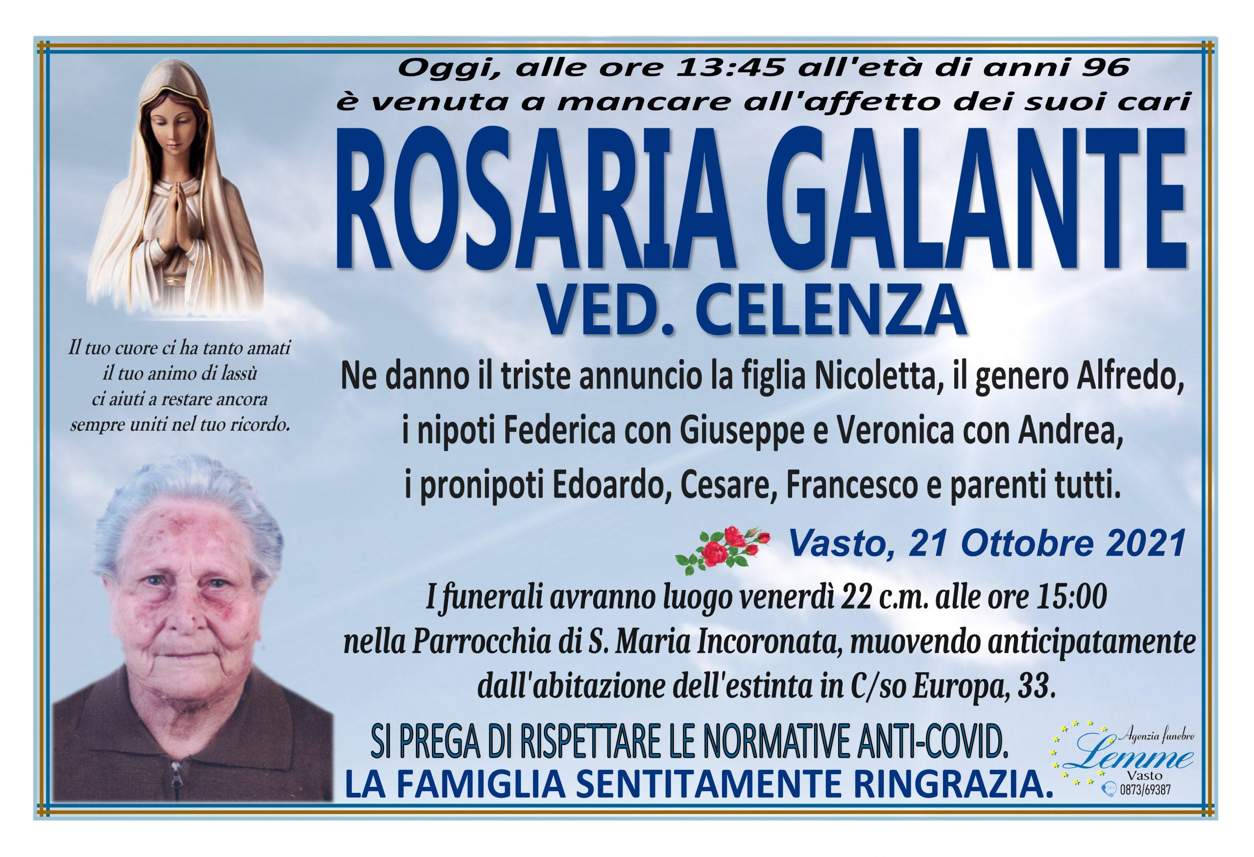 ROSARIA GALANTE