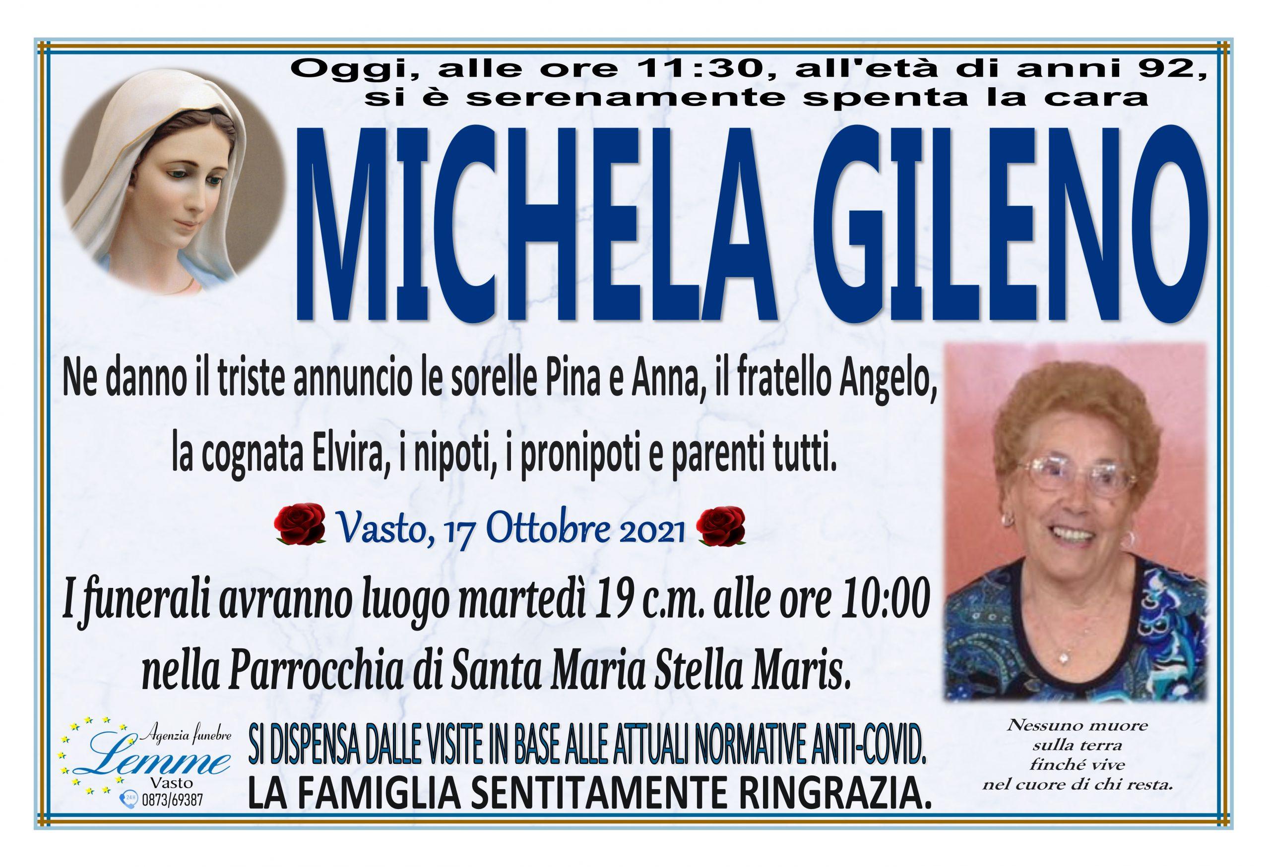 MICHELA GILENO