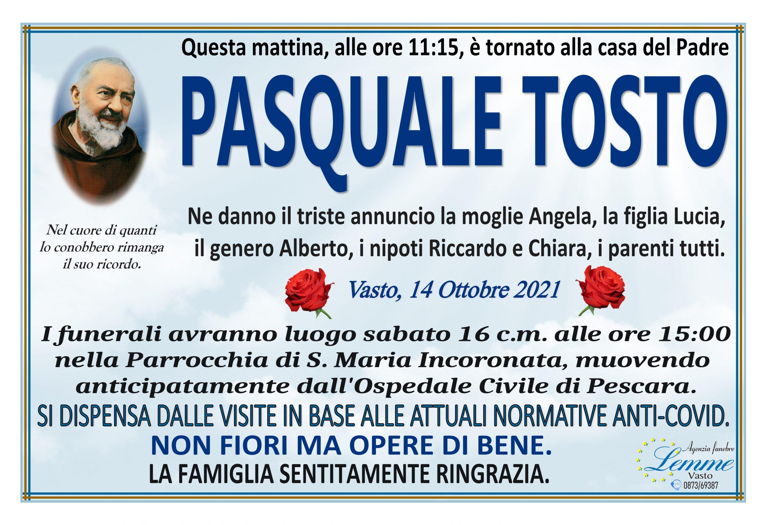 PASQUALE TOSTO